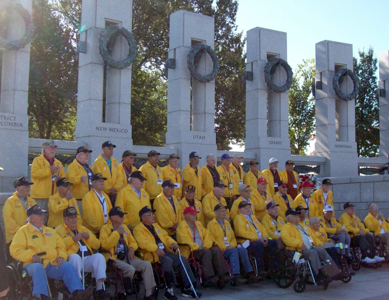 Honor Flight of SNM 2015 Mission, Washington, D.C.